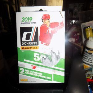2019 DONRUSS BASEBALL HANGER BOX SEALED SEE SCAN
